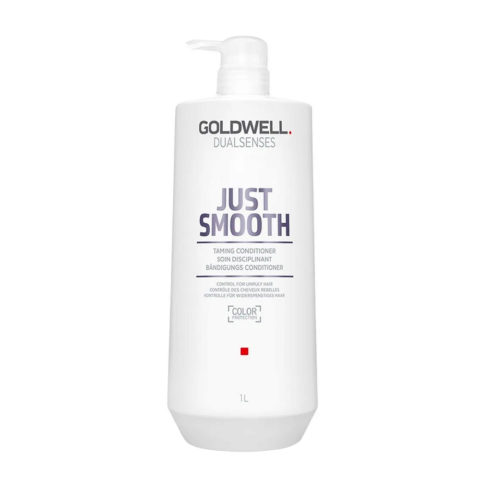 Goldwell Dualsenses Just Smooth Taming Conditioner 1000ml - Balsamo anticrespo