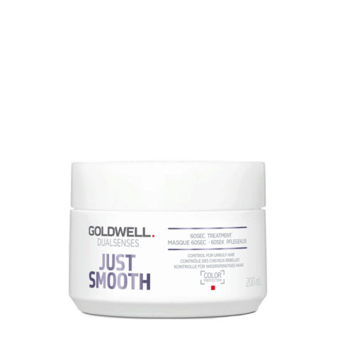 Goldwell Dualsenses Just Smooth 60 sec Treatment  200ml - Maschera Anticrespo