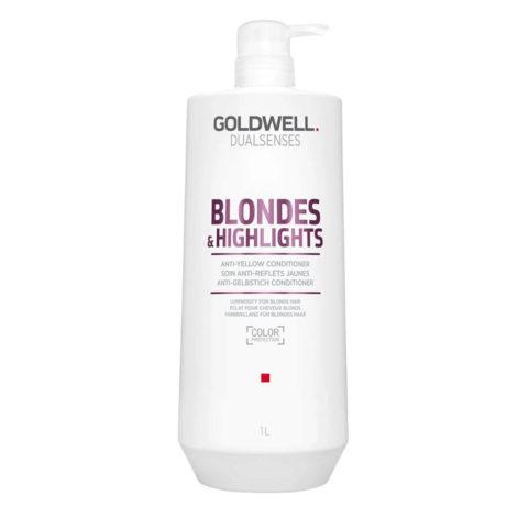 Goldwell Dualsenses blond & highlights Anti-Yellow Conditioner 1000ml - Balsamo Antigiallo