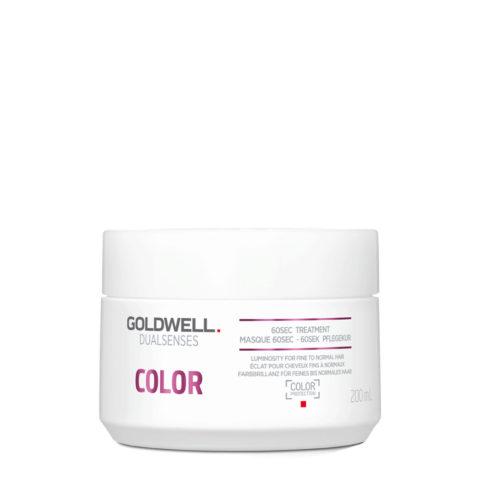 Goldwell Dualsenses Color Brilliance 60sec Treatment 200ml - Maschera lucidante capelli colorati 60sec