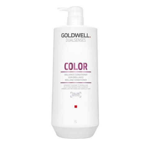 Goldwell Dualsenses Color Brilliance Conditioner 1000ml - Balsamo capelli colorati