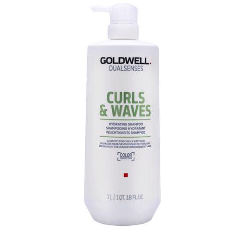 Goldwell Dualsenses Curly twist Shampoo 1000ml - shampoo ricci