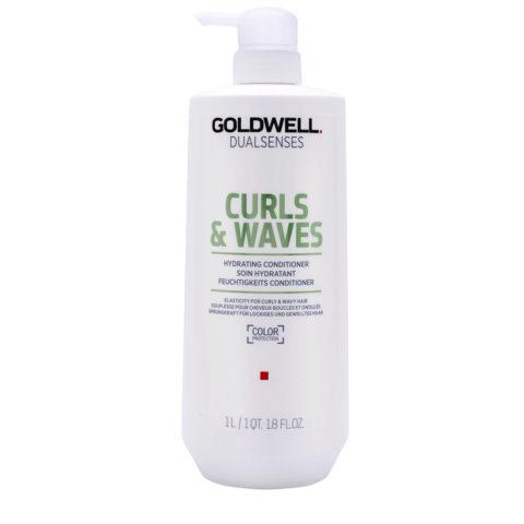 Goldwell Dualsenses Curly twist Hydrating Conditioner 1000ml - balsamo idratante ricci