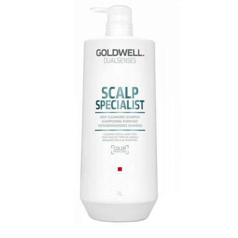 Goldwell Dualsenses Scalp specialist Deep cleansing shampoo 1000ml - shampoo purificante