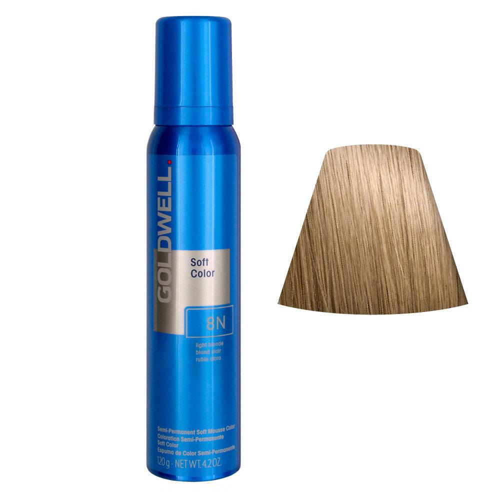 Goldwell Colorance Soft Color schiuma colorante Biondo chiaro 8N 125ml