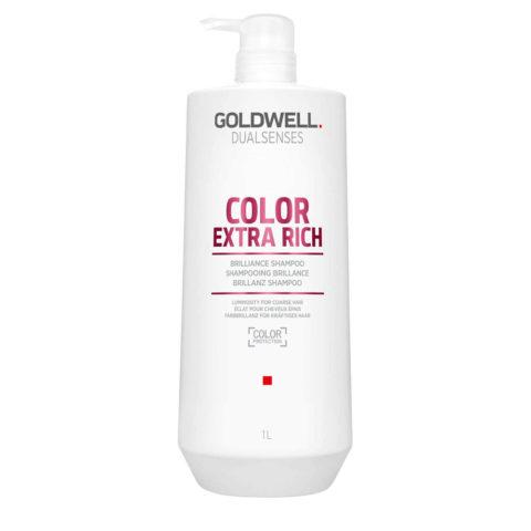 Goldwell Dualsenses Color ExtraRich Brilliance Shampoo 1000ml - Shampoo capelli colorati grossi