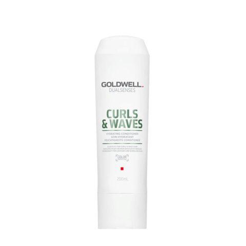Goldwell Dualsenses Curly twist Hydrating Conditioner 200ml - balsamo idratante ricci