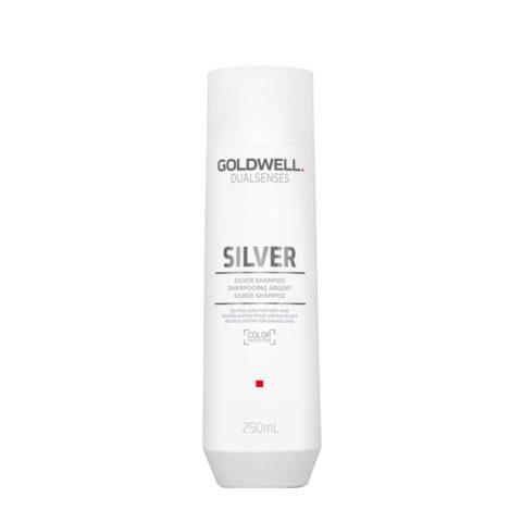 Goldwell Dualsenses Silver Shampoo 250ml - shampoo antigiallo capelli grigi bianchi biondi