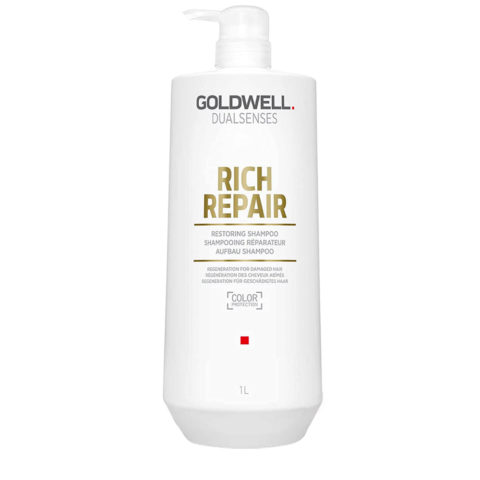 Goldwell Dualsenses rich repair Restoring shampoo 1000ml - shampoo ristrutturante