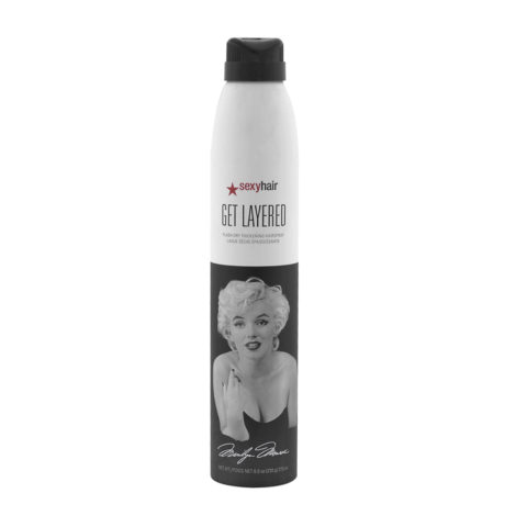 Big Sexy hair Get Layered Limited Ed Marilyn Monroe 275ml - lacca tenuta media