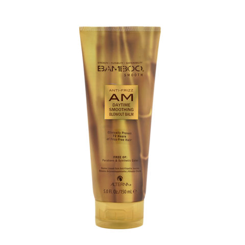 Alterna Bamboo Smooth AM Daytime Smoothing Blowout Balm 150ml - crema trattamento anticrespo