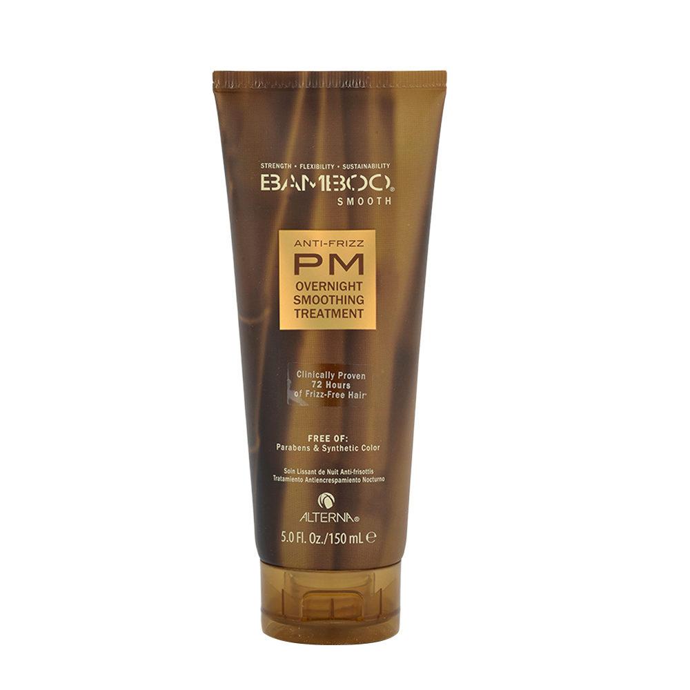 Alterna Bamboo Smooth PM Overnight Smoothing Treatment 150ml - trattamento anticrespo