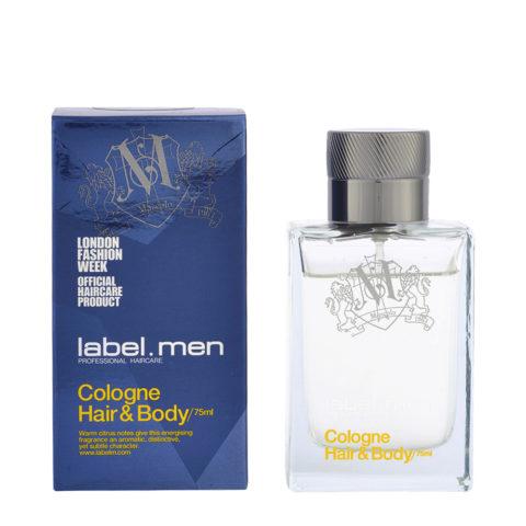 Label.Men Cologne Hair&Body 75ml - colonia corpo e capelli uomo
