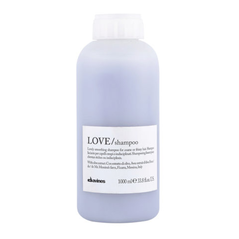 Davines Essential hair care Love smooth Shampoo 1000ml - Shampoo lisciante