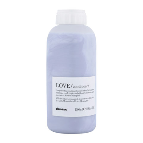 Davines Essential hair care Love smooth Conditioner 1000ml - balsamo lisciante