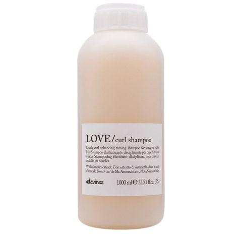 Davines Essential hair care Love curl Shampoo 1000ml - Shampoo disciplinante