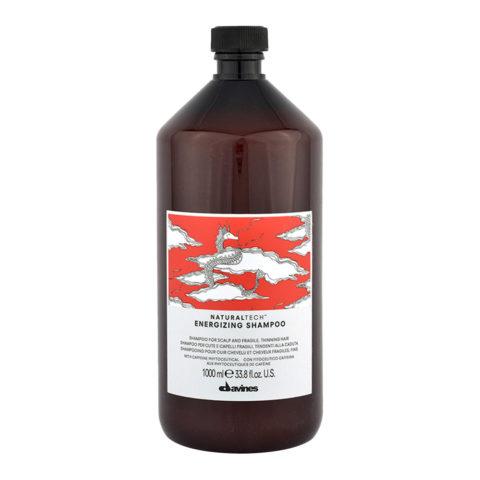 Davines Naturaltech Energizing Shampoo 1000ml - shampoo energizzante anticaduta
