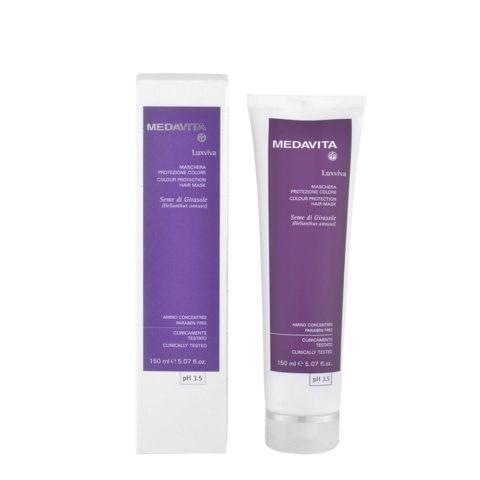 Medavita Lunghezze Luxviva Maschera protezione colore pH 3.5  150ml