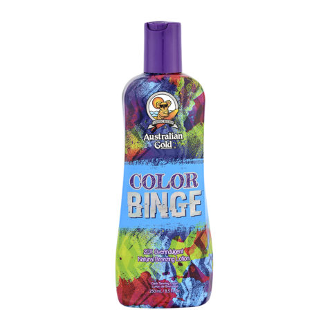 Australian Gold Good Line Color Binge Intensificatore con Natural Bronzer 250ml