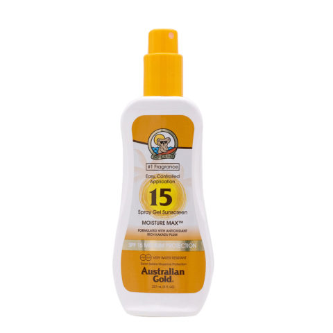 Australian Gold Protezioni Solari SPF15 Spray Gel 237ml