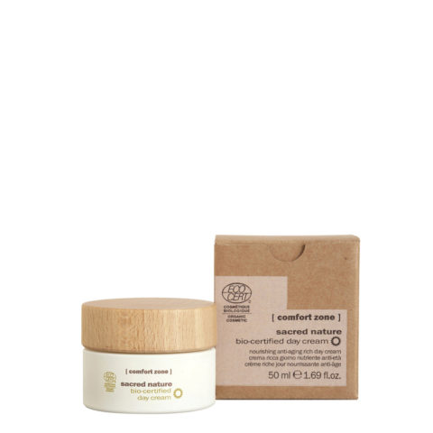 Comfort Zone Sacred Nature Bio-Certified Day Cream 50ml - Crema giorno antirughe naturale