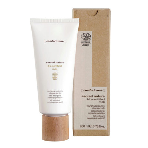 Comfort Zone Sacred Nature Bio-Certified Milk 200ml -.latte viso detergente naturale
