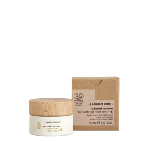Comfort Zone Sacred Nature Bio-Certified Night Cream 50ml - crema notte idratante naturale