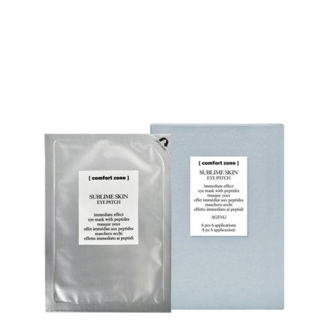 Comfort Zone Sublime Skin Eye Patch 6pz - maschera occhi rassodante antirughe