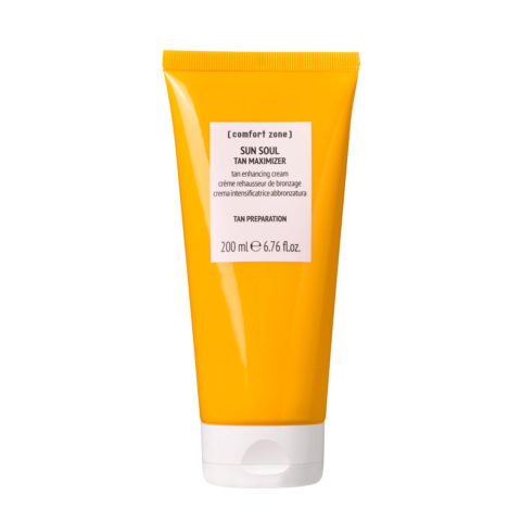 Comfort Zone Sun Soul Cream Gel Tan Maximizer 200ml - acceleratore di abbronzatura corpo