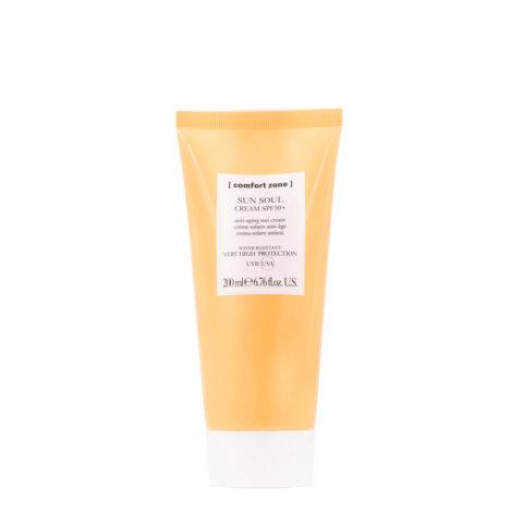 Comfort Zone Sun Soul Cream SPF 50+  200ml - crema protezione solare viso e corpo
