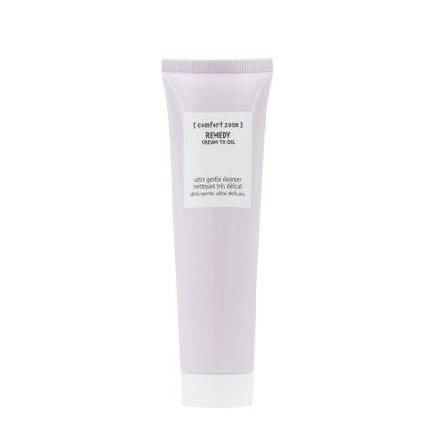 Comfort Zone Remedy Cream to oil 150ml - schiuma detergente struccante