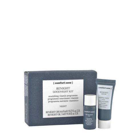 Comfort Zone Renight Goodnight Kit Cream 8ml, Oil 5ml