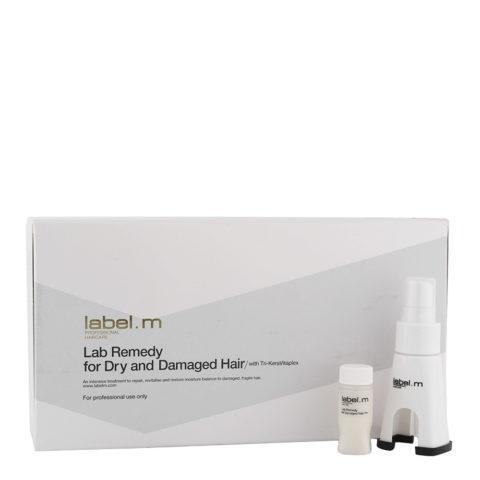 Label M Lab Remedy Dry&Damaged Hair 24x10ml - fiale per capelli secchi e danneggiati