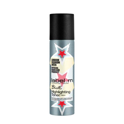 Label M Complete Blue Highlighting Toner 150ml - spray lucidante blu per capelli neri