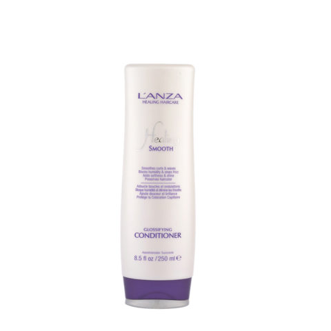 L' Anza Healing Smooth Glossifying Conditioner 250ml - balsamo anticrespo illuminante