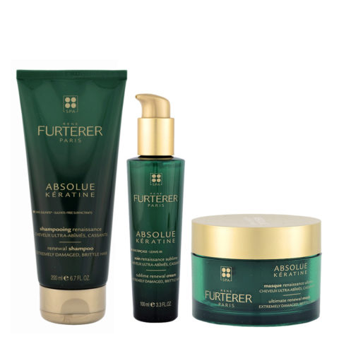 René Furterer Absolue Kératine Kit Rituale Completo