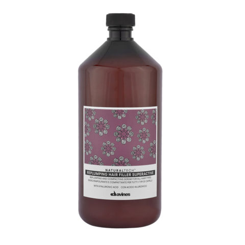 Davines Naturaltech Replumping Hair filler Superactive 1000ml - Siero rimpolpante