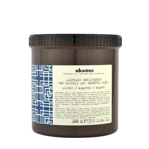 Davines Alchemic Conditioner Silver 1000ml
