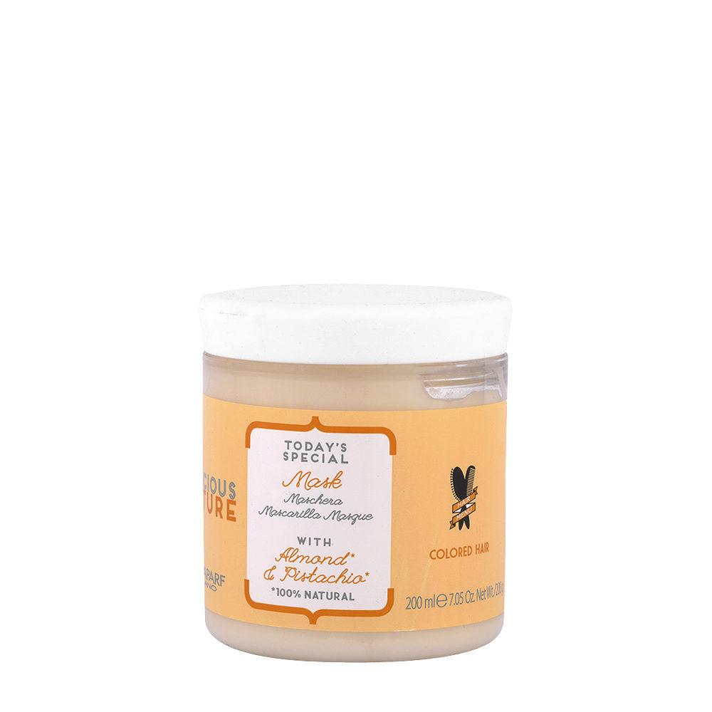 Alfaparf Precious Nature Mask With Almond & Pistachio 200ml - Maschera Per Capelli Colorati