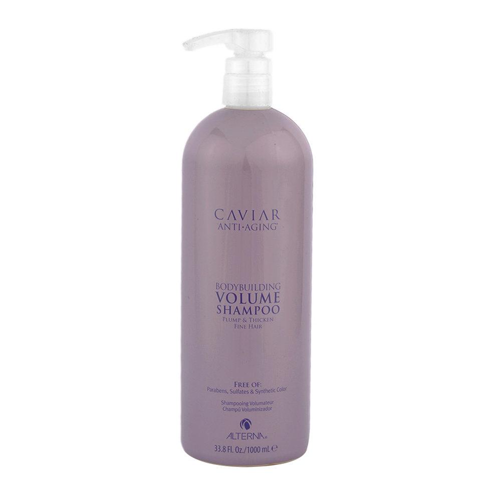 Alterna Caviar Volume Anti aging bodybuilding shampoo 1000ml - shampoo volumizzante antietà