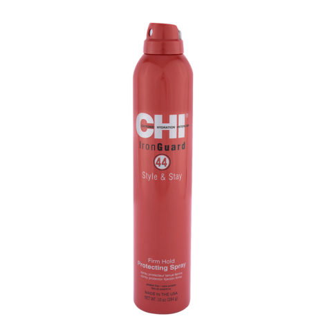 CHI 44 Iron Guard Style & Stay Firm Hold Protecting Spray 284gr- spray tenuta forte e protezione termica