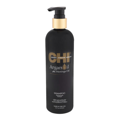 CHI Argan Oil plus Moringa Oil Shampoo 355ml - shampoo idratante