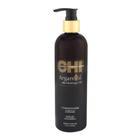 CHI Argan Oil plus Moringa Oil Conditioner 355ml - balsamo di nutrizione