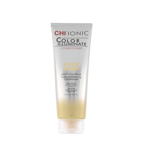CHI Ionic Color Illuminate Conditioner Golden Blonde 251ml - balsamo illuminante colorato biondo dorato