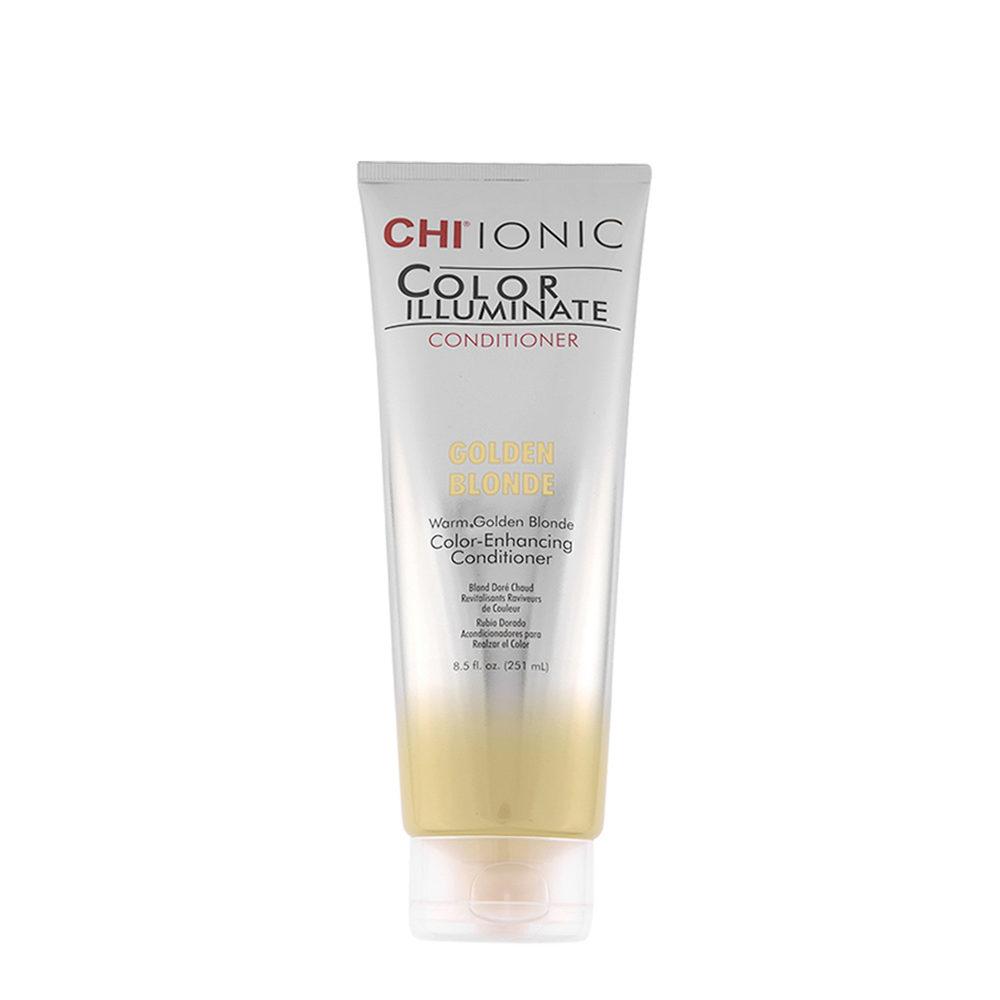 CHI Ionic Color Illuminate Conditioner Golden Blonde 251ml - balsamo illuminante colorato biondo dorato