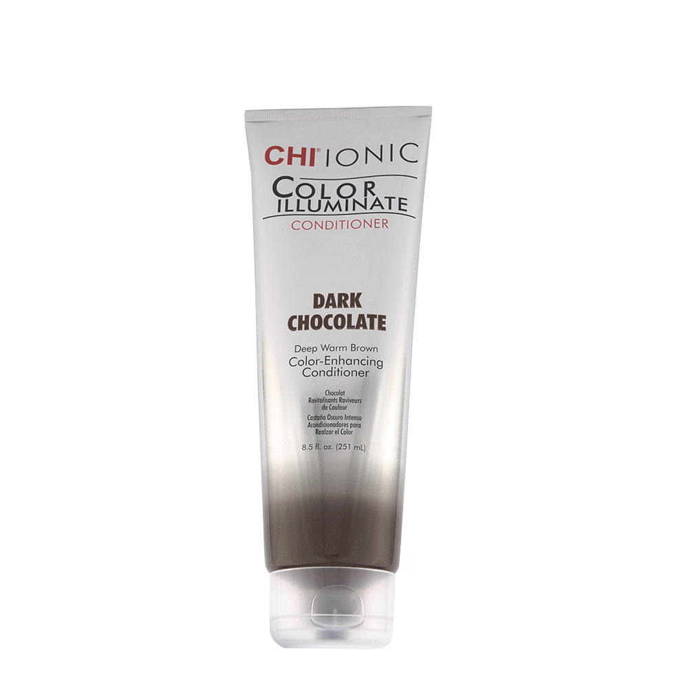 CHI Ionic Color Illuminate Conditioner Dark Chocolate 251ml - balsamo illuminante colorato cioccolato