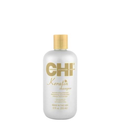 CHI Keratin Shampoo 355ml - per la ricostruzione