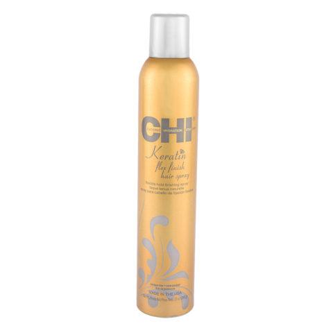 CHI Keratin Flex Finish Hairspray 284gr - Lacca tenuta naturale
