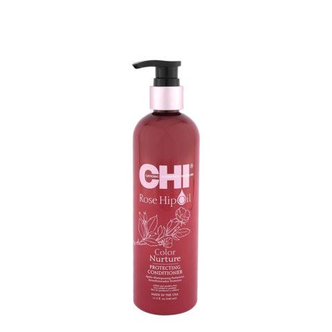 CHI Rose Hip Oil Protecting Conditioner 340ml - balsamo protettivo per capelli colorati