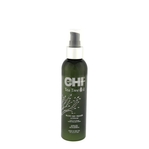 CHI Tea Tree Oil Blow Dry Primer Lotion 177ml - lozione per l'asciugatura